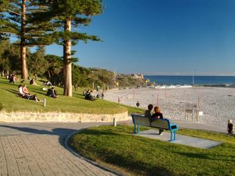 Perth webcam - Cottesloe Beach webcam, Western Australia, Perth