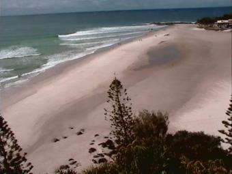 Rainbow Bay webcam - Rainbow Bay webcam, Queensland, Gold Coast