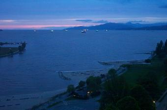 English Bay webcam - Sunset Beach - English Bay webcam, British Columbia, Vancouver