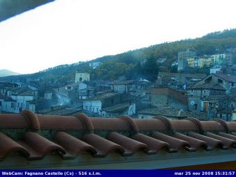 Fagnano Castello webcam - Fagnano Castello webcam, Calabria, Province of Cosenza