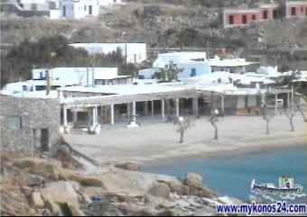 Mykonos webcam - Mykonos Paradise beach webcam, Cyclades, Cyclades