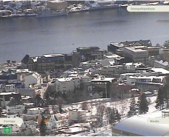 Harstad webcam - Halogaland Kraft - Harstad webcam, Troms, Troms