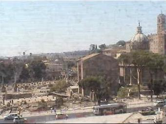 Rome webcam - Hotel Forum Rome webcam, Lazio, Lazio