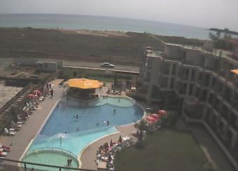 Primorsko webcam - Prestige City II Hotel, Primorsko webcam, Burgas, Nesebar