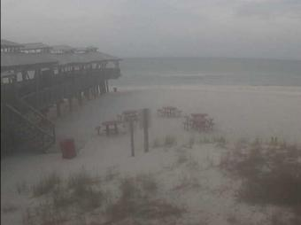 Panama City Beach webcam - Pineapple Willy's webcam, Florida, Bay County