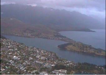 Queenstown webcam - Skyline Gondola, Restaurant & Luge, Queenstown webcam, Otago, Queenstown-Lakes District