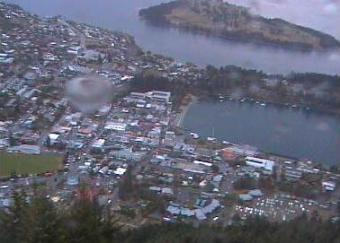 Queenstown webcam - Skyline Gondola, Restaurant & Luge - Central Queenstown webcam, Otago, Queenstown-Lakes District