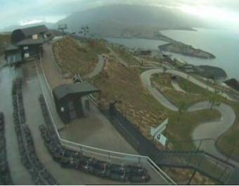 Queenstown webcam - Skyline Gondola, Restaurant & Luge - view from top webcam, Otago, Queenstown-Lakes District
