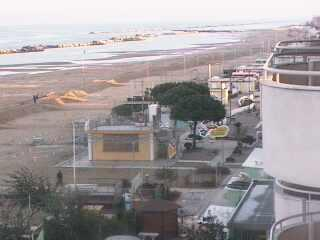 Bellaria-Igea Marina webcam - Hotel Brienz webcam, Emilia-Romagna, Rimini