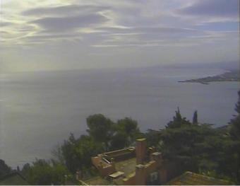 Taormina webcam - Villa Carlotta webcam, Sicily, Messina