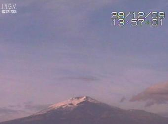 Etna webcam - Etna Volcano South webcam, Sicily, Sicily