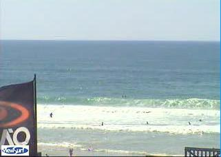 Lacanau webcam - Plage Nord webcam, Aquitaine, Gironde