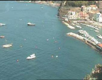 Sorrento webcam - Hotel Restaurant La Tonnarella, Sorrento webcam, Campania, Naples