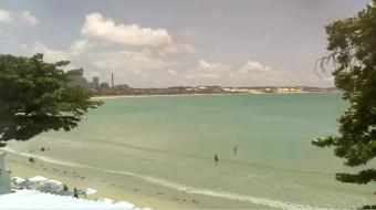 Natal webcam - Ponta Negra Beach webcam, Rio Grande do Norte, Rio Grande do Norte