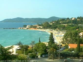 Le Lavandou webcam - St Clair webcam, Provence-Alpes-Cote d'Azur, Var