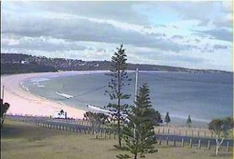 Merimbula webcam - Merimbula Beach Cabins webcam, New South Wales , Sapphire Coast