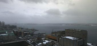 Halifax webcam - Westin Nova Scotian Hotel to Bishops Landing webcam, Nova Scotia, Halifax