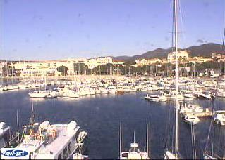 Sainte-Maxime webcam - Port of Sainte-Maxime View 3 webcam, Provence-Alpes-Cote d'Azur, Var