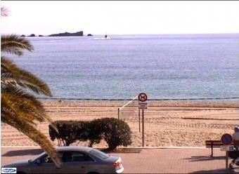 Frejus webcam - Frejus Beach webcam, Provence-Alpes-Cote d'Azur, Var