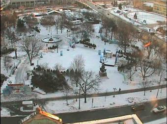 Ottawa webcam - Lord Elgin Hotel, Ottawa Confederation Park webcam, Durham Region, Ontario