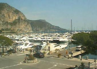 Beaulieu-sur-Mer webcam - Port de Beaulieu webcam, Provence-Alpes-Cote d'Azur, Alpes-Maritimes