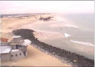 Capbreton webcam - Capbreton Panovideo webcam, Aquitaine, Landes