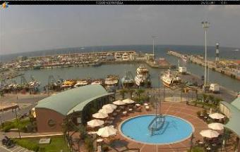 Cattolica webcam - Cattolica Port webcam, Emilia-Romagna, Rimini