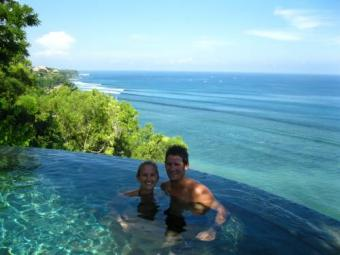 Bali webcam - Micks Place, Bingin Beach webcam, Lesser Sunda Islands, Bali