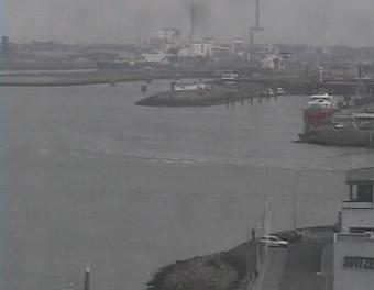 Ijmuiden webcam - Ijmuiden port webcam, North Holland, Velsen