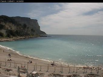 Baie de Cassis webcam - Cassis webcam, Provence-Alpes-Cote d'Azur, Var