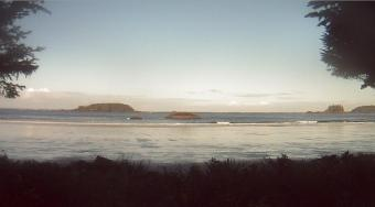 Tofino webcam - North Chesterman Beach Surf webcam, British Columbia, Vancouver Island