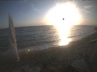 Torvaianica webcam - Beach of Torvaianica webcam, Lazio, Rome