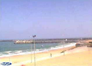Anglet webcam - The Beach Bar, Anglet webcam, Aquitaine, Pyrenees-Atlantiques