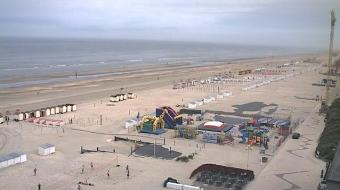 De Panne webcam - Tearoom Restaurant Leopold 1 webcam, Flanders, West Flanders