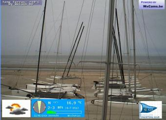 Saint-Idesbald webcam - Saint-Idesbal KYC 2 webcam, Flanders, Koksijde Municipality