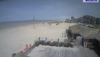 Oostduinkerke webcam - Surf Club Windekind 1 webcam, Flanders, Koksijde Municipality