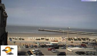 Nieuwpoort webcam - Hotel Uilenspiegel webcam, Flanders, West Flanders