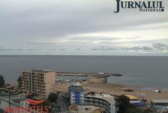 Eforie webcam - Hotel Europa webcam, Black Sea, Constanta District