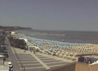 Fano webcam - Hotel Amelia webcam, Marche, Pesaro and Urbino