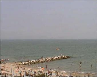 Jesolo webcam - Chiosco Bar ai Pini webcam, Venetia, Venice