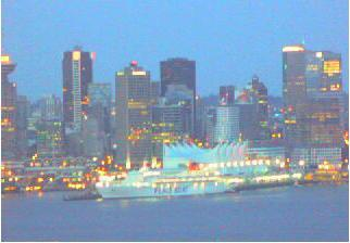 Vancouver webcam - Alaska Cruise Ship  webcam, British Columbia, British Columbia