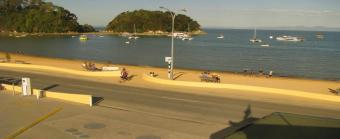 Kaiteriteri webcam - Kaiteriteri Beach Camp webcam, Tasman Bay, Nelson