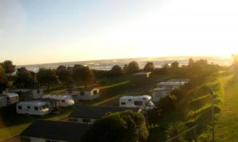 Waihi webcam - Bowentown Beach Holiday Park webcam, Waikato, Coromandel Peninsula