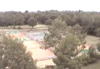 Moliets-et -Maa webcam - Moliets-et-Maa - Tennis Courts webcam, Aquitaine, Landes
