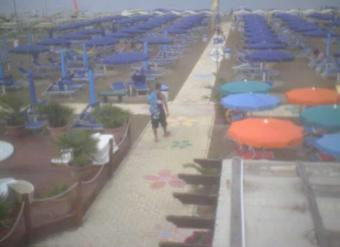 Riccione webcam - Marano Beach 2 webcam, Emilia-Romagna, Rimini