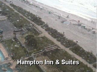Myrtle Beach webcam - Hampton Inn & Suites  webcam, South Carolina, Horry County
