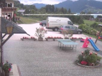 Unterach webcam - Pension Sonnhof webcam, Upper Austria, Vocklabruck