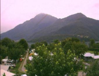 Dongo webcam - Dongo webcam, Lombardy, Como