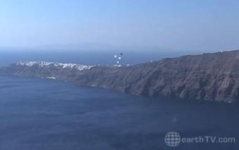 Santorini webcam - Santorini webcam, Cyclades, Cyclades