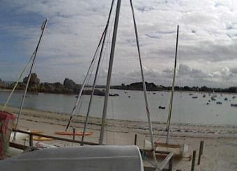 Brignogan-Plage webcam - Brignogan webcam, Bretagne, Finistere